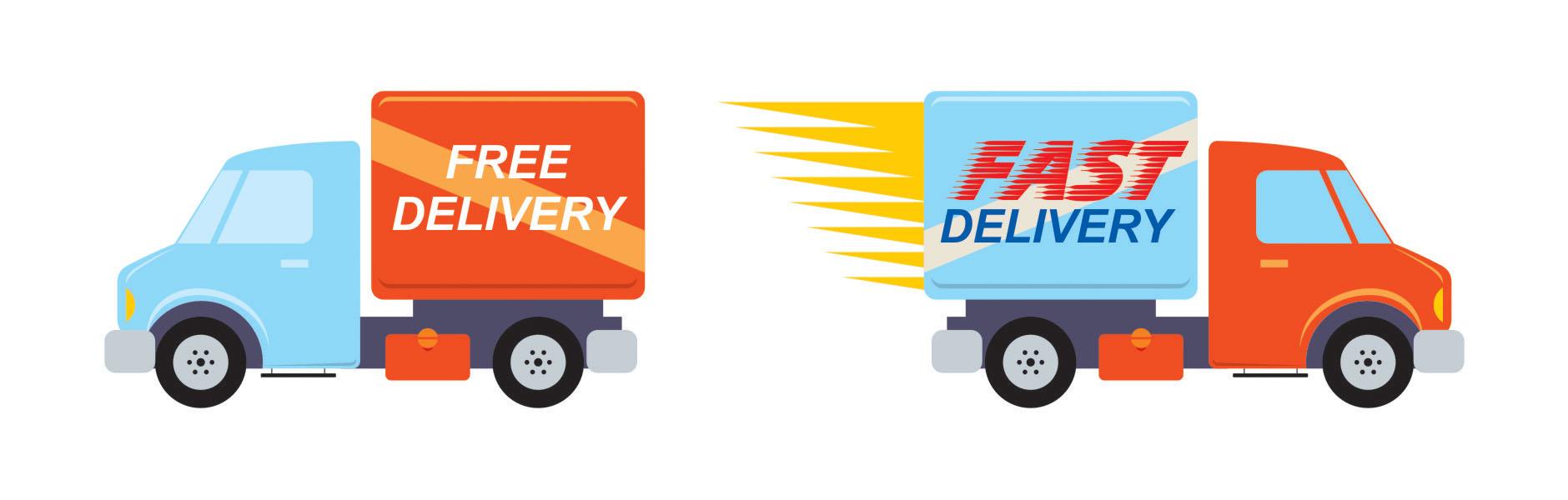 Free shipping vs Fast shiping